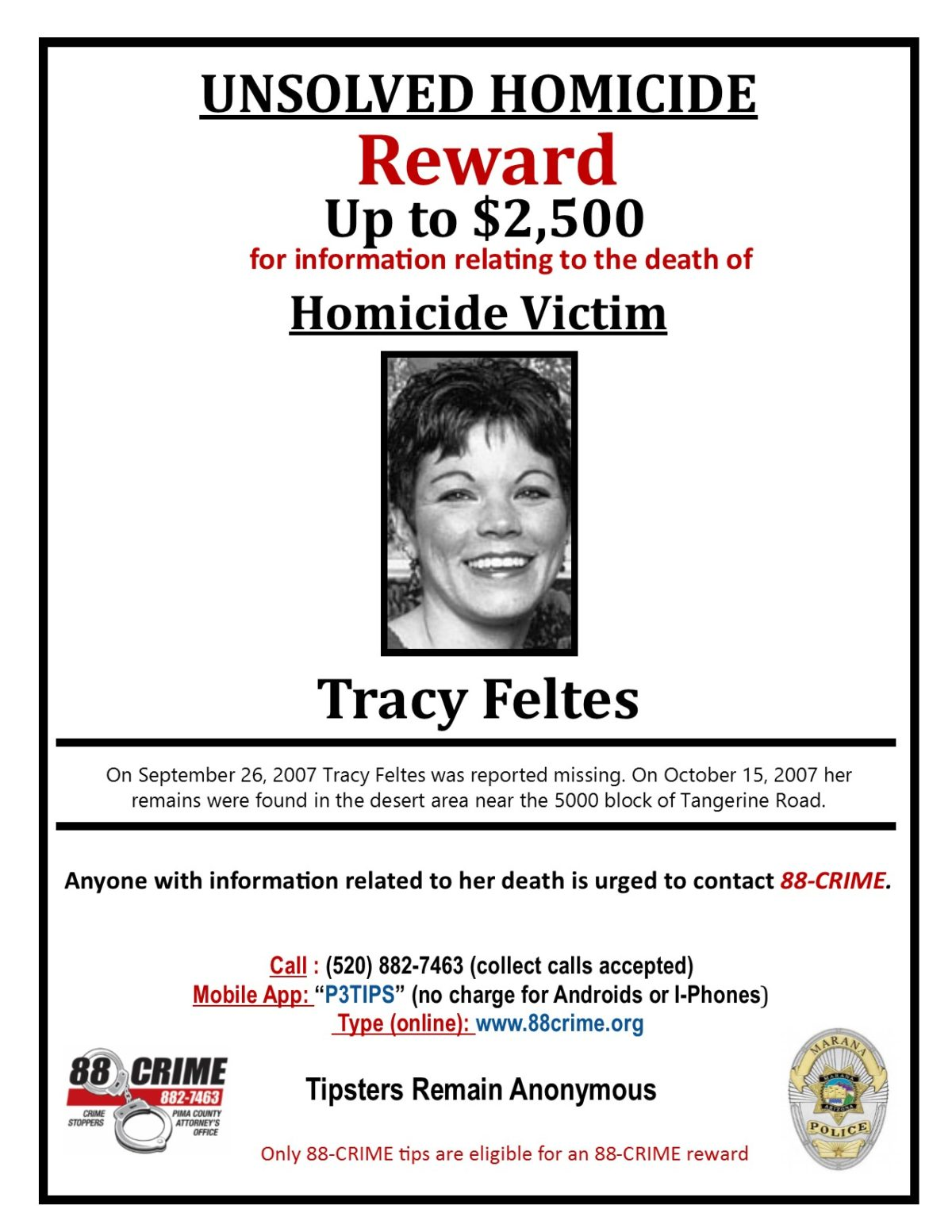 Tracy Feltes | 88Crime