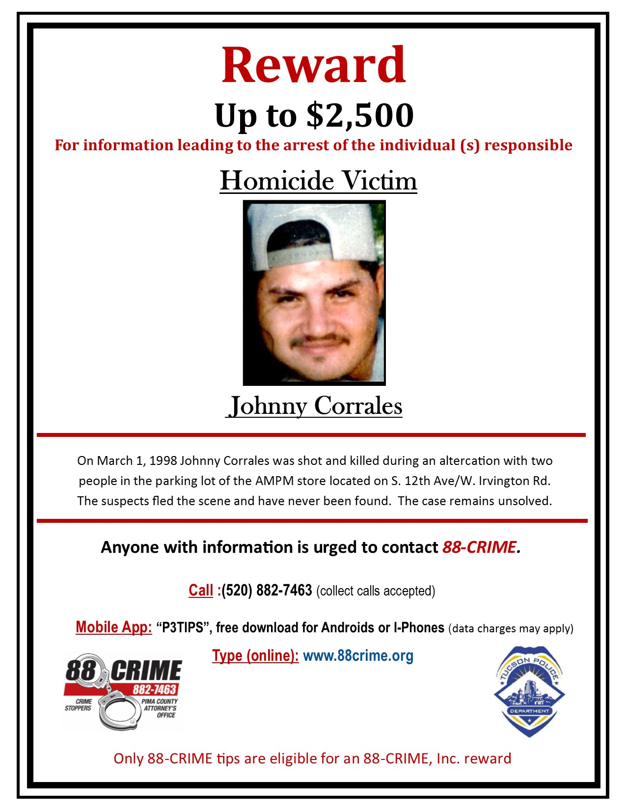 Johnny Corrales | 88Crime