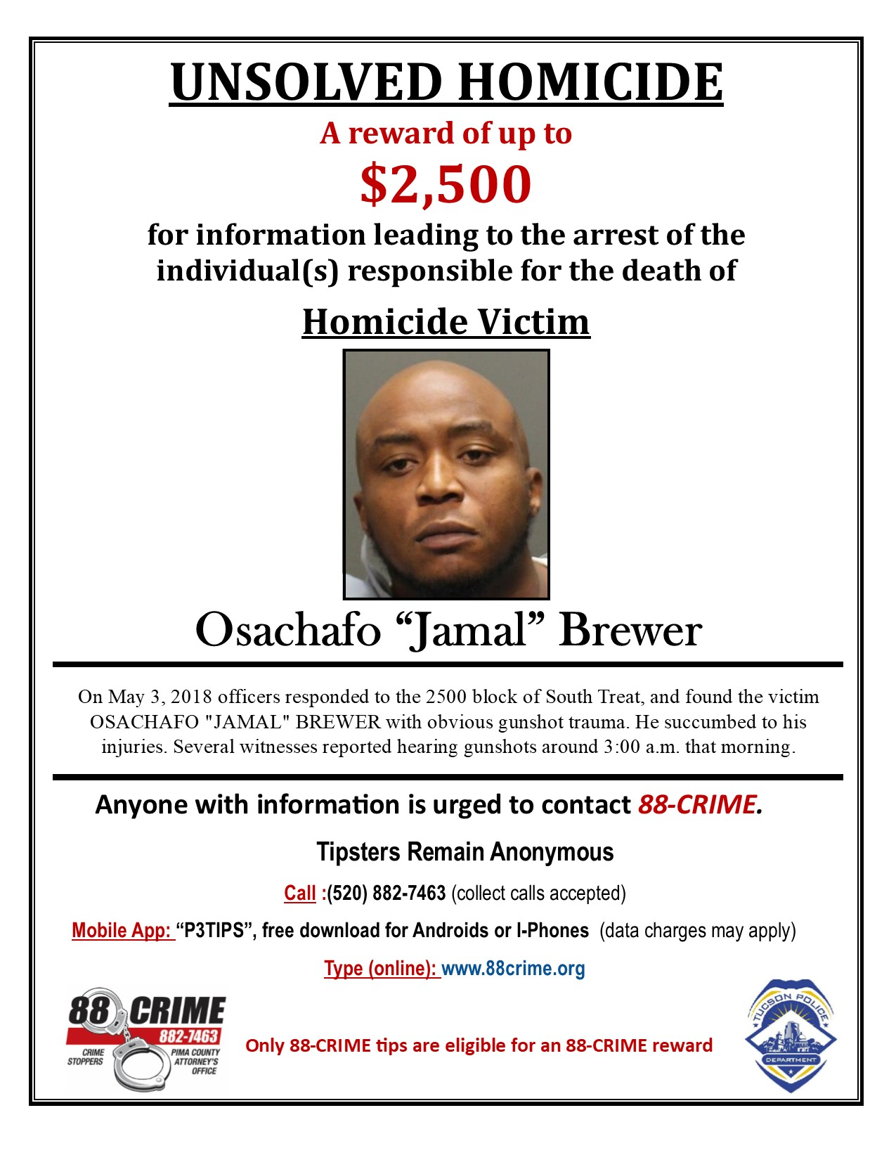 "Osachafo ""Jamal"" Brewer 
